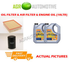 DIESEL OIL AIR FILTER + LL 5W30 OIL FOR VAUXHALL FRONTERA 2.8 113 BHP 1995-96