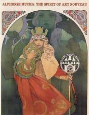 Alphonse Mucha: The Spirit of Art Nouveau-ExLibrary