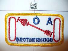 OA O Shot Caw Lodge 265 X-1.5,Brotherhood,BRO,Web Belt Patch,South Florida Cl,FL