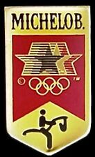 Equestrian Olympic Pin Badge ~ LA ~ 1984 Los Angeles ~ Sponsor ~ Michelob