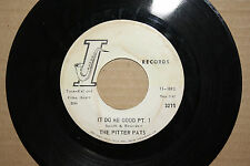 PITTER PATS **IT DO ME GOOD PT. 1 & 2** New Orleans R&B 45 on INSTANT 3279