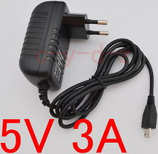 AC Converter Adapter DC 5V 3A Power Supply Charger EU plug 3000mA MICRO USB