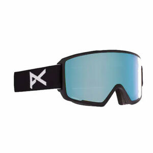 Anon M3 Asian Fit 2021 Snowboard Goggles Variable Blue Lens + Mfi Face Mask + Bo