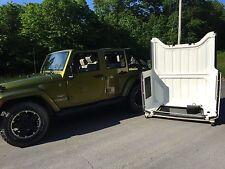 Hardtop Storage Cart/ Holder and Liftglass Retainer Bar for Jeep Wrangler JK