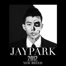 JAY PARK [NEW BREED] 1st Album PARK JAE-BEOM CD+Photobook K-POP SEALED