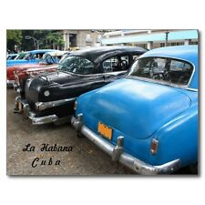 "+PC-Postcard-""The Fancy Cars""  /In Havana, Cuba""   (B517)"