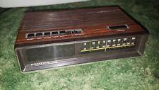 Lloyds J374 Am/Fm Digital Alarm Clock Radio Wood Grain 771A