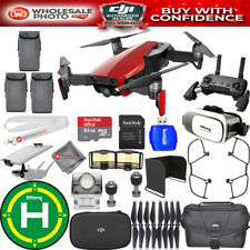 DJI Mavic Air (Flame Red) 3 BATTERY EXTREME PRO BUNDLE IN STOCK NEW