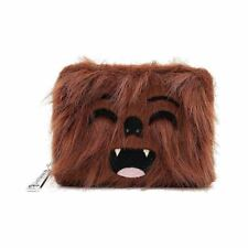 More details for loungefly x star wars chewbacca cosplay clutch purse