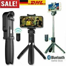 Bluetooth Selfie Stick Stativ Mini 3 in 1 Selfie Stange 360° für iPhone Samsung