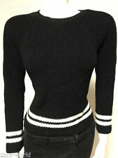 Zara Long Sleeve None Striped Jumpers & Cardigans for Women