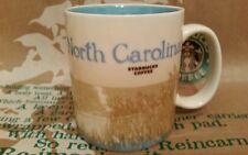 Starbucks Coffee Mug/Tasse/Becher NORTH CAROLINA,Global Icon,NEU m.SKU-Aufkleber