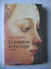 LA TENTATION DE FRA LIPPI - ALAIN CHAPELLIER