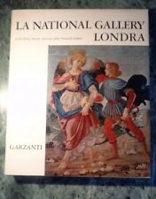 LA NATIONAL GALLERY LONDRA 100 TAVOLE A COLORI PHILIP HENDY GARZANTI IV ED. 1964