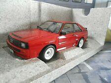 AUDI Sport Quattro rot red 1985 A55013 RAR NEU Norev  Audi Dealer 1:18