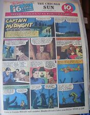 Captain Midnight Sunday by Jonwon from 11/1/1942 Large Rare Full Page Size!
