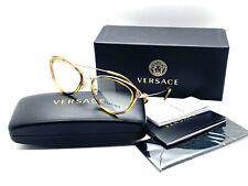 Versace Eyeglasses VE1244 1400 Pale Gold/Havana 53 17 140 Demo Lens