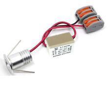 10 x 1W 20mm Mini LED Spot Encastrable Lumière Plafonnier Blanc Pur AC85-265v