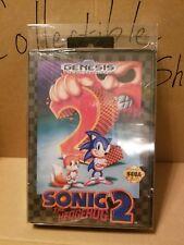 BRAND NEW Sonic The Hedgehog 2 for Sega Genesis FACTORY SEALED