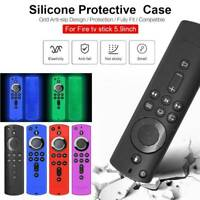 Silicone Cover For Amazon 4K Ultra HD HDR Fire TV Stick Alexa Voice Remote NEW