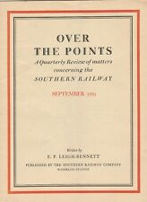 OVER THE POINTS - QUARTERLY REVIEW OF SOUTHERN RAILWAY - SEPTEMBER 1931