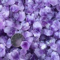 100g Natural Amethyst Skeletal Quartz Point Crystal Cluster Healing Specimen