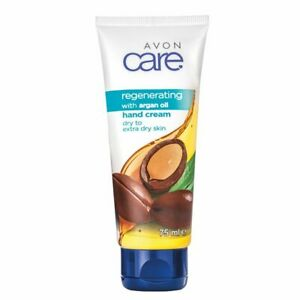 Avon Care Regenerating With Argan Oil Hand Cream 75ml Dry to Extra Dry Skin