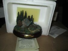 Hawthorne Village Thomas Kinkade Woodland Retreats Collection Lighted Sculpture
