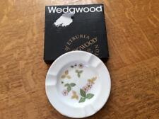 "Wedgwood Wild Strawberry bone china 4 1/2"" ashtray original box - EXCELLENT!!"