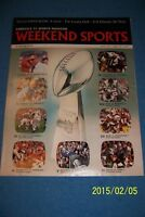 1976 Weekend Sports SUPER BOWL X Pittsburgh vs Dallas HISTORY OF SUPER BOWL I-X