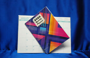 2022 Month Planner Abstract 8  x 10 Large Planner Next Day Shipping