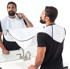 Tablier à Barbe Pour Rasage Cape Barbier Neuf Blanc