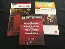 Clarinet Broadway Music Books