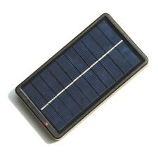 2X(New Portable Solar Charger For 18650 Batteries/Mobile Phones 2W 5V Q1F4)