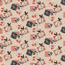 Le Petit Zinc Rustic PVC Vinyl Vintage French Tablecloth Oilcloth 20m Roll