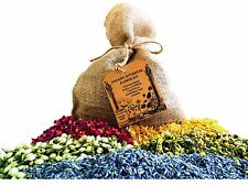 Extra-Large Organic Botanical Flower Kit - 5 Types Flowers & Buds 3 Cups Each