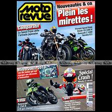 MOTO REVUE N°3897 YAMAHA FZ1 KAWASAKI Z 750 R 1000 HONDA CB R TRIUMPH 1050 2010