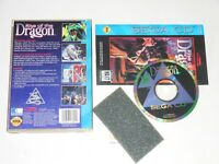 Sega CD, RISE OF THE DRAGON (Complete w/ Manual)
