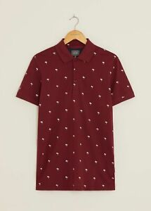 Peter Werth New Mens Tropic Polo Shirt - Red