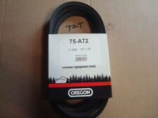 """1/2 X 74"""" replacement Industrial Belt replaces John Deere M43820, M71135  (75A72"""