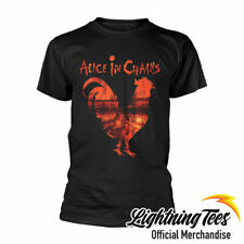 Official Alice In Chains Rooster Dirt Band T-Shirt