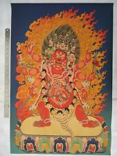 Collected Tibetan Ethnic Vintage Decoration Sacred Buddhist Thangka Paintings