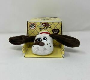 """Pound Puppies White with Dark Brown Spots 7"""" Adorable Retro Toy And Gift!"""