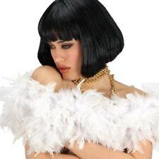 Boa in Piume economico lungo Cm.180 Bianco 8260 Carnival Toys