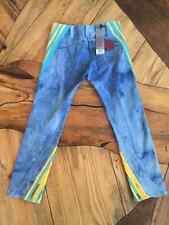 NEW LEVIS JEANS  ENGINEERED  RADICAL TWIST BLUE MARBLE 34 31X32 NWT twisted leg