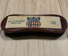 Vintage 1900's Clothing Brush - Union Laundry Co.