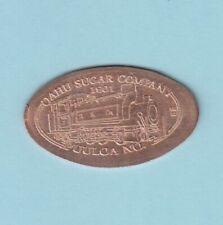 C: Oahu Sugar Company ~ Puuloa #7 ~ Train / Locomotive/ Engine ~ 1901 ~ Hawaii