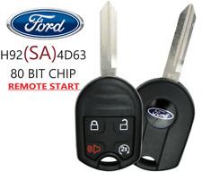 New Ford 2011 2020 4 Button Remote Start Key 80 Bit Oem Chip Cwtwb1u793 A Fits Ford