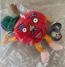 Mr. Apple eBay Memorabilia Official Bean Bag Toy Stuffed Plush Apple