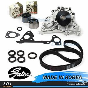 Gates JAPAN Timing Belt Kit w/ Water Pump Fits 03-06 Kia Sorento 3.5L
